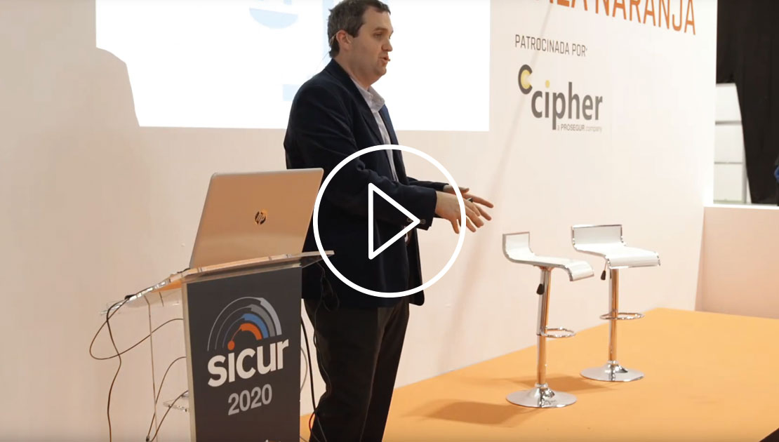 David Gómez, at SICUR 2020: Cybersecurity in the field of IoT