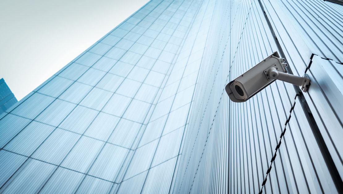 Bank video surveillance scheme